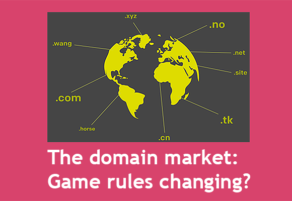 The domain marked: Rules of the game changing? (link)