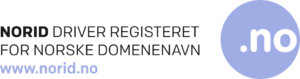 Norid - driver registeret for norske domenenavn, med logo