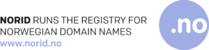 Norid runs the registry for Norwegian domain names, with logo